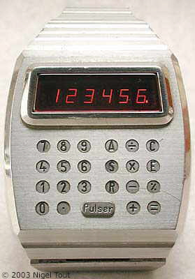 Image result for Hamilton Pulsar Calculator Watch