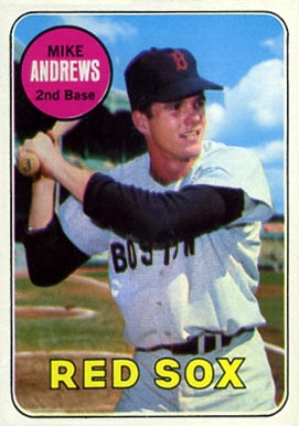 Image result for mike andrews 1969 baseball card image