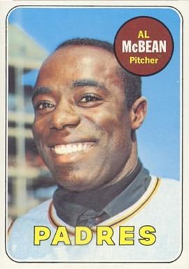 Image result for al mcbean 1969 topps card IMAGE