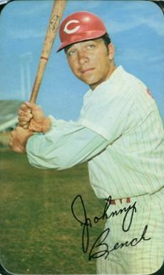 1970 Topps Super Johnny Bench 8 Baseball Card Value Price