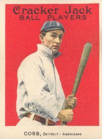 Resultado de imagem para baseball cards cobb