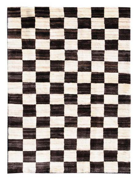 tapis modernes noir 200 x 150 cm