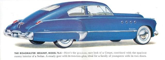 1949 Buick Roadmaster Sedanette