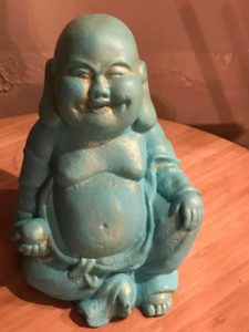 Turquoise & Gold Buddha
