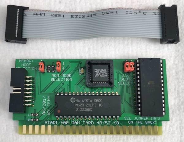48/52K RAM Card for Atari 400