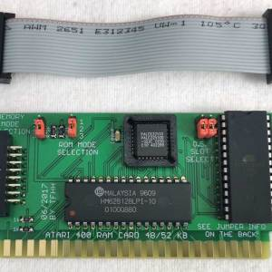 48/52K RAM Card for Atari 400