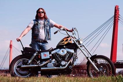 "Harley-Davidson Dyna Wide Glide 1340 ""Bay Area Dyna"""