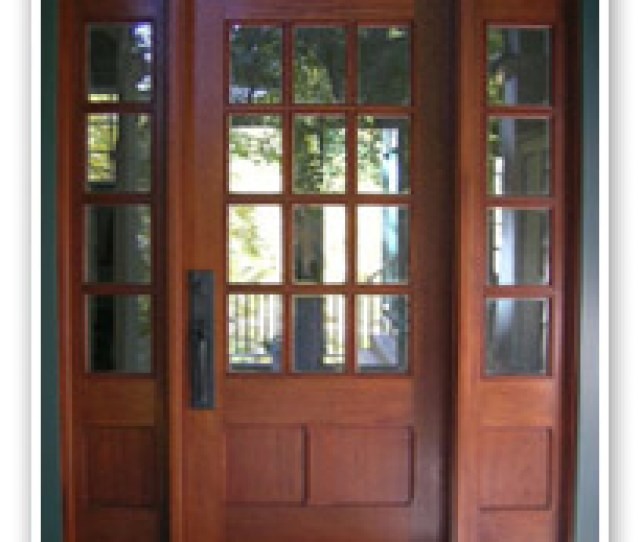Solid Wood Front Entry Doors Front Entry Units