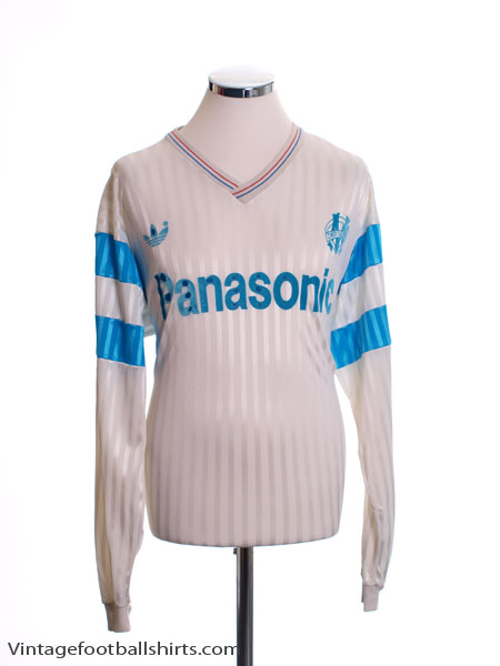 Buy marseille football shirts, training kit and merchandise. 1990 91 Olympique Marseille Home Shirt L S Xl For Sale