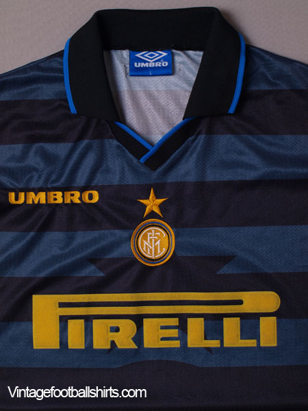 1997 98 Inter Milan Cup Shirt L For Sale