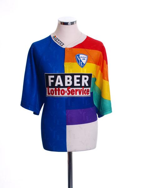 1997 98 vfl bochum home shirt l for sale