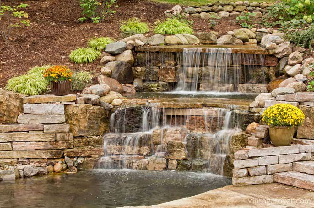 42 Incredibly Beautiful Backyard Ponds for Your Inspiration on Small Backyard Pond With Waterfall id=57464