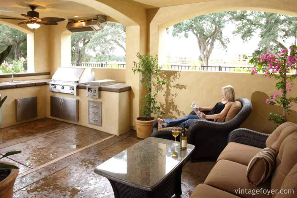 Outdoor Patio Kitchens Galore (Photo Gallery) on Outdoor Kitchen Patio  id=11632