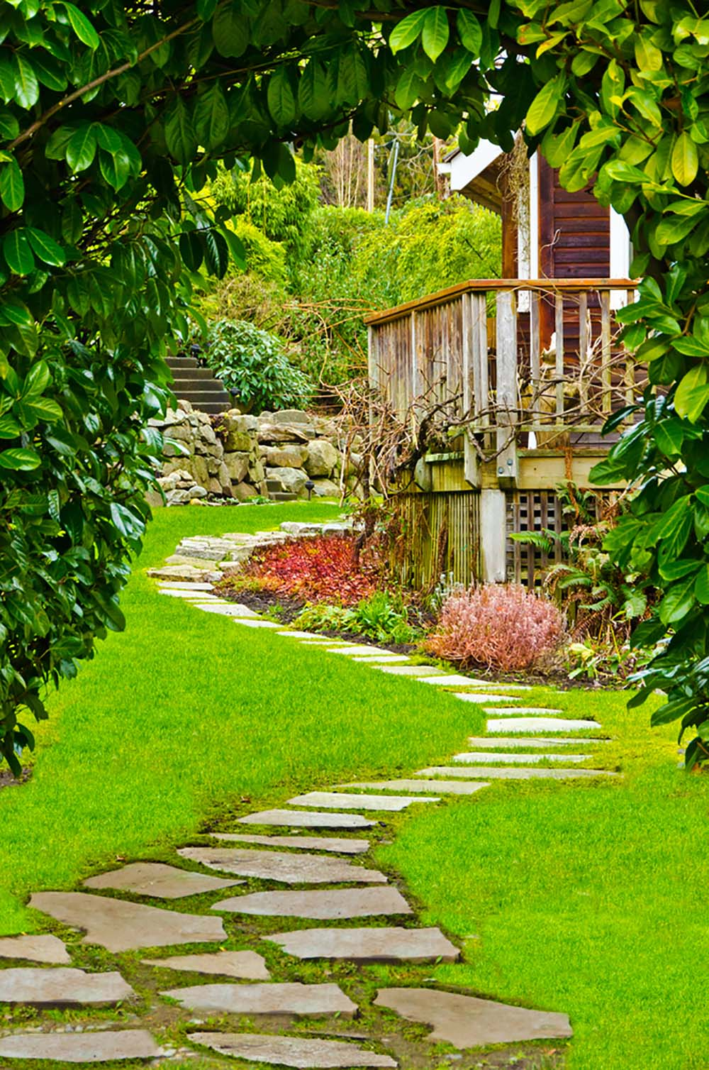 37 Inspiring Front Yard Landscaping Ideas - Page 3 of 3 on Uphill Backyard Ideas  id=49094