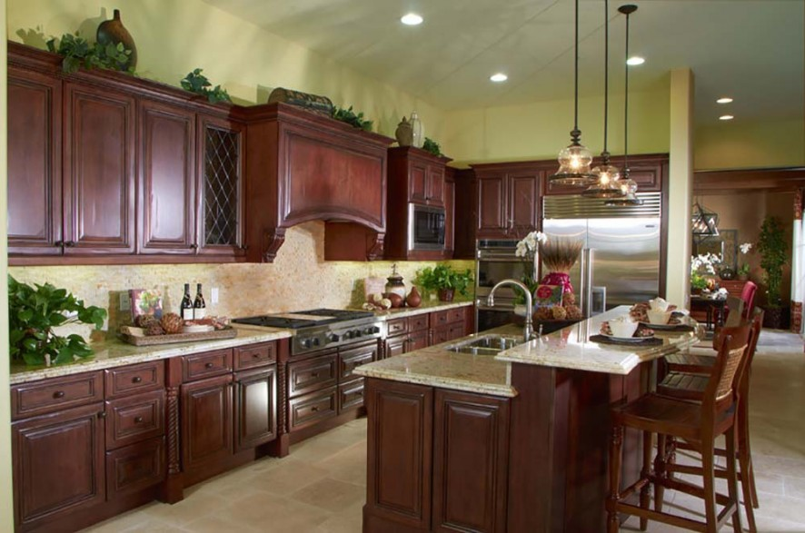 Long L Shaped Kitchen