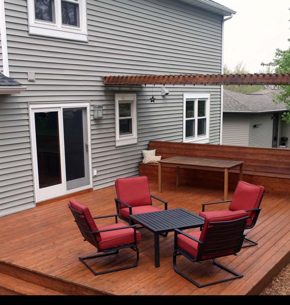 Delightful Wood Deck Designs (42 Photos) on Wood Deck Ideas For Backyard  id=64415