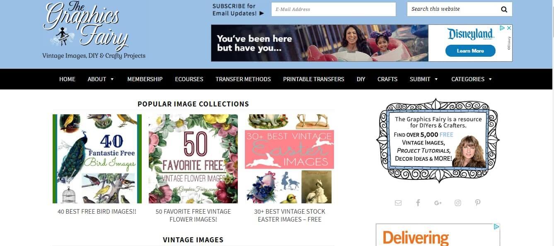 graphic's fairy website