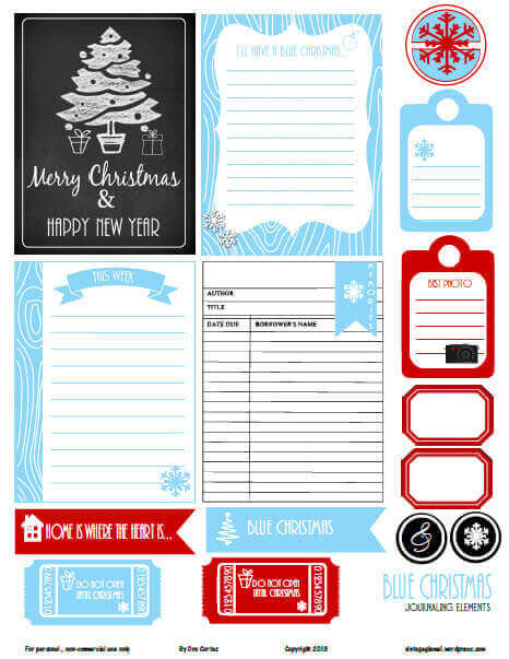 blue-christmas-journaling-cards-preview