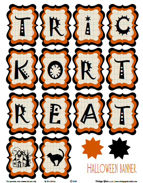Halloween Banner | party printable