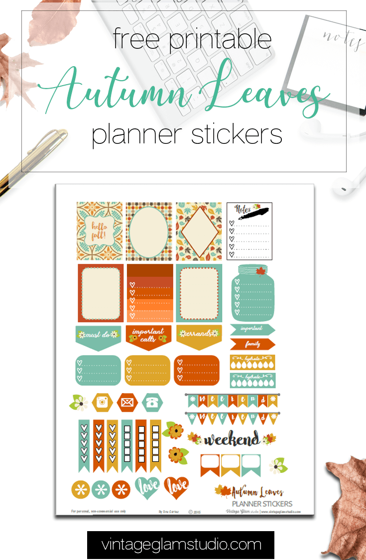 Autumn Leaves printable