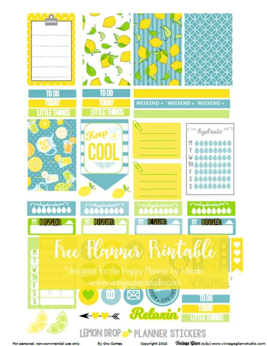 planner stickers preview -page 2