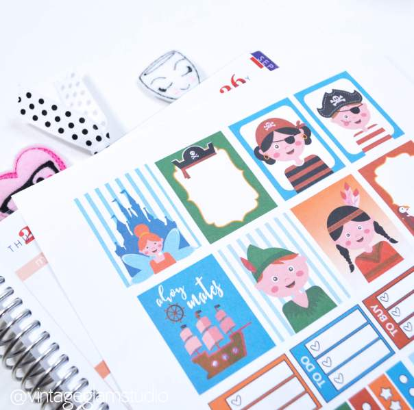 Enchanted Kingdom 3 Planner Stickers | free printable