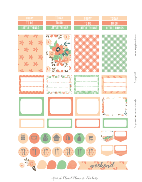 planner stickers- page 2