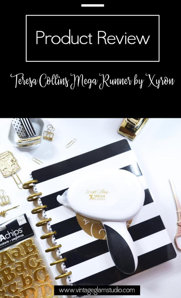 Product Review-Teresa Collins Mega runner by Xyron