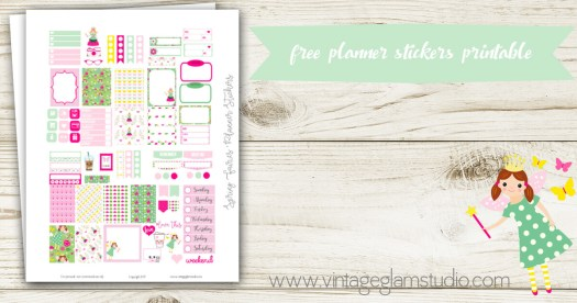 free mini happy planner preview