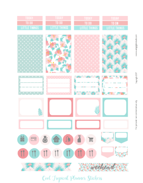 planner stickers printable -page 2