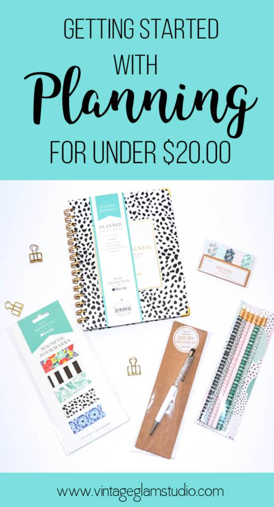 Get started with planning for under $20