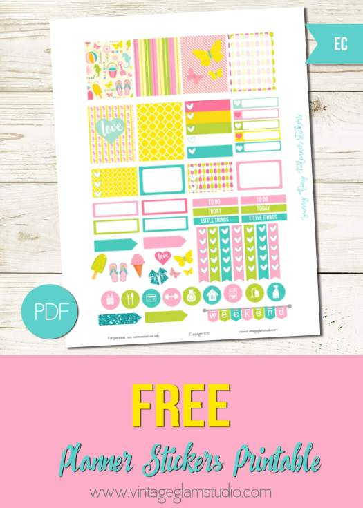 Free erin condren planner printable, for personal use onlly