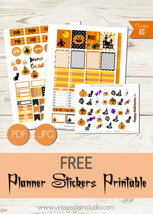Wacky Witches | Halloween printable, free for personal use only