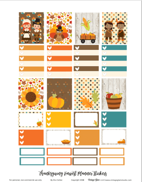 planner stickers printable