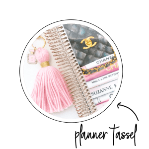 planner tassel accessory