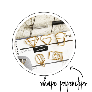 shape paperclips, accessory