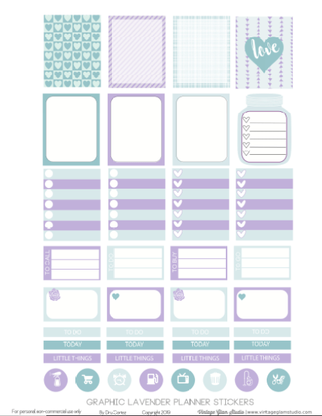 planner stickers page 1