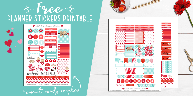 planner stickers, desktop
