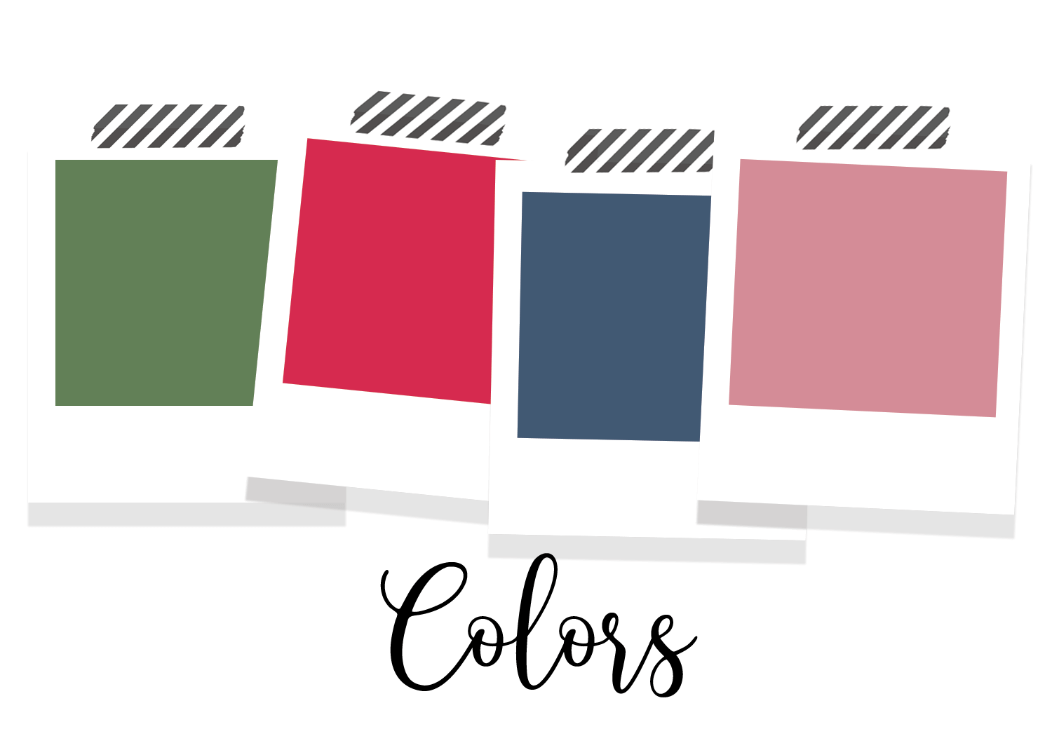 christmas planner stickers color theme