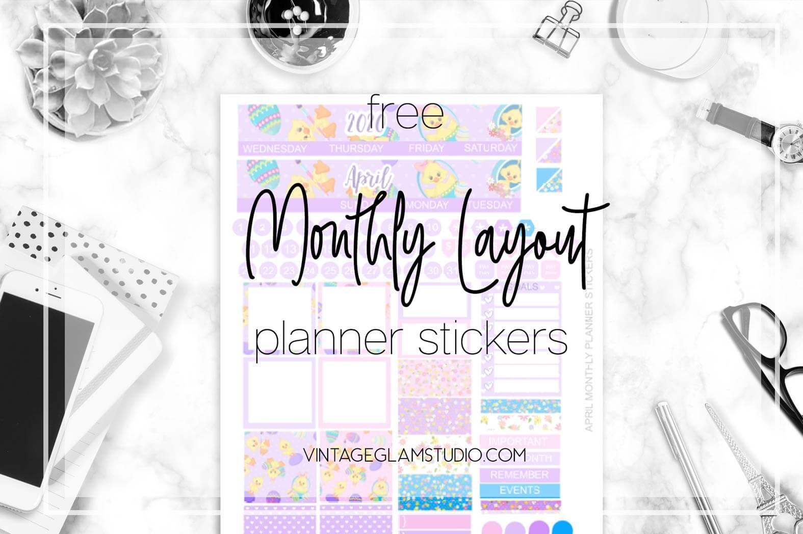 planner stickers desktop