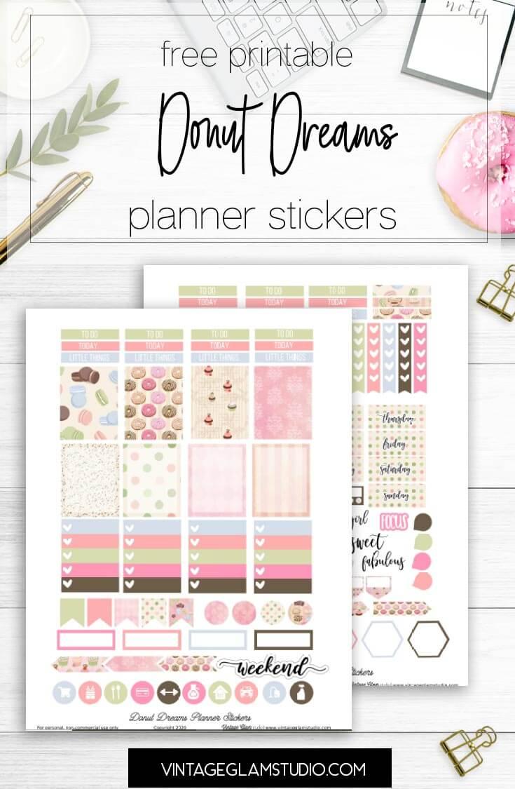 planner sticker printable