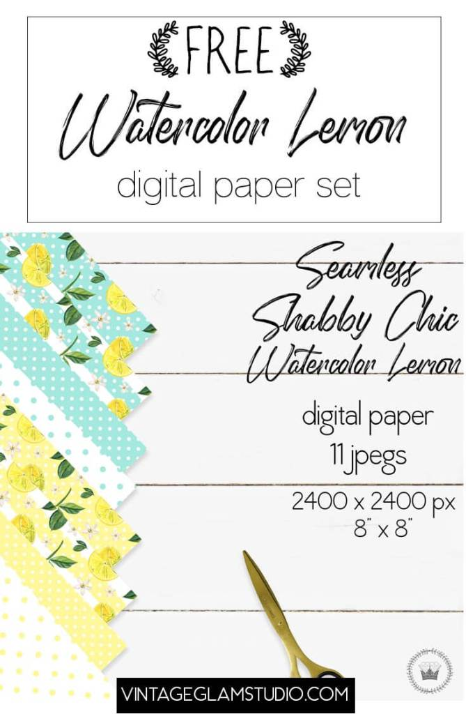 lemon digital paper