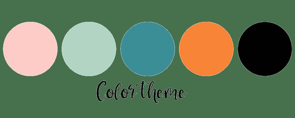 halloween color theme