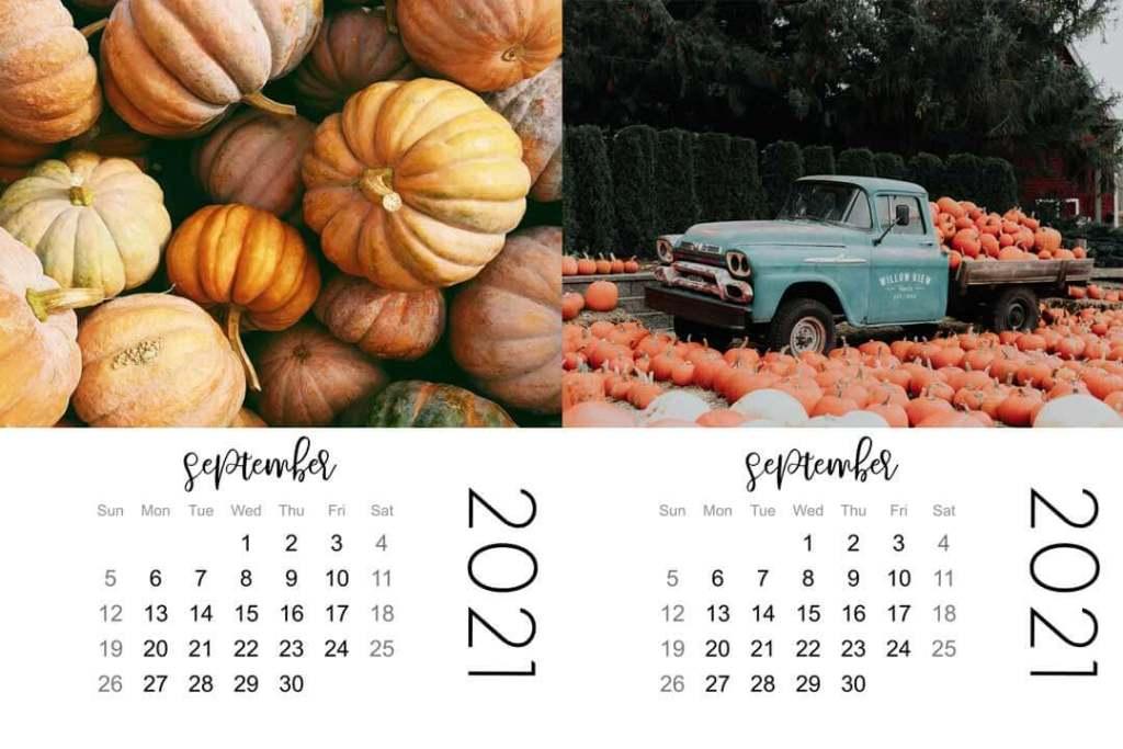 mini calendars preview