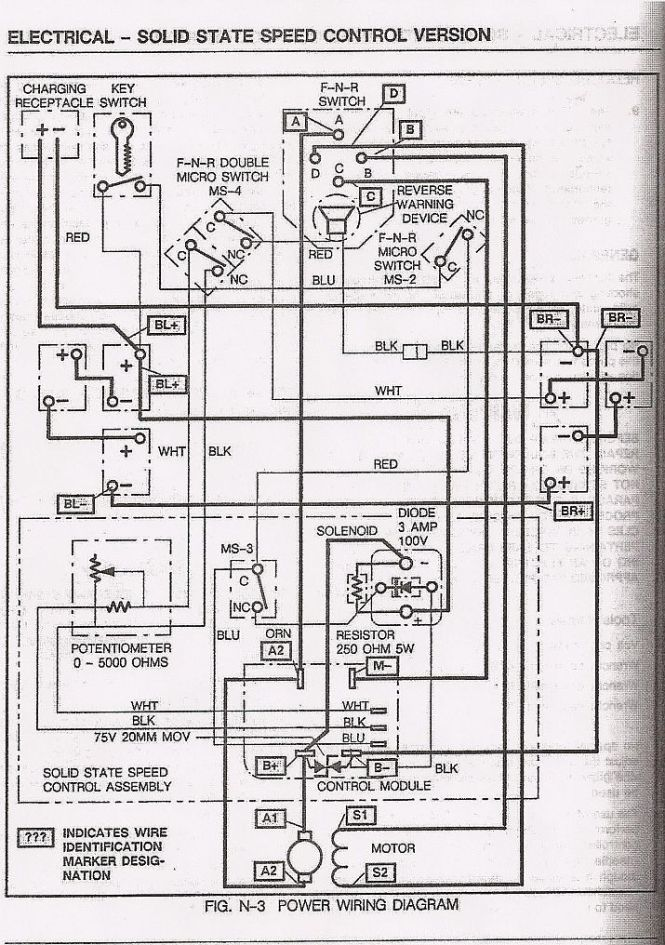 ez go golf cart wiring diagram wiring diagrams 1990 ezgo marathon wiring diagram nodasystech
