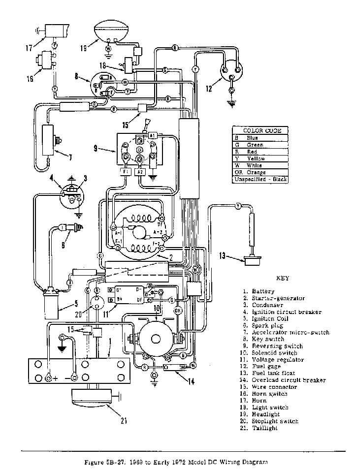 Electric Golf Cart Wiring Diagram Ezgo Gas Golf Cart