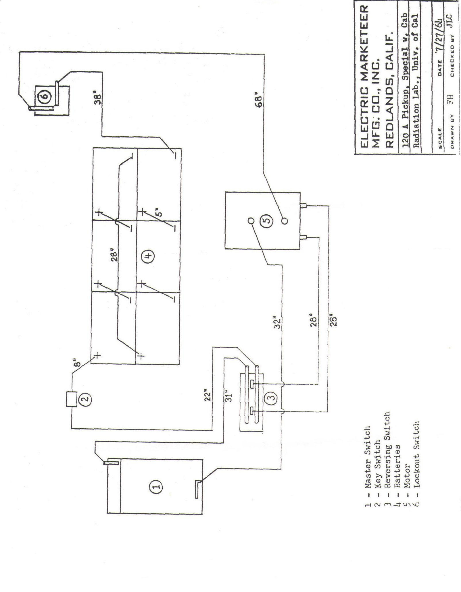 Taylor Dunn Golf Cart Wiring Diagram