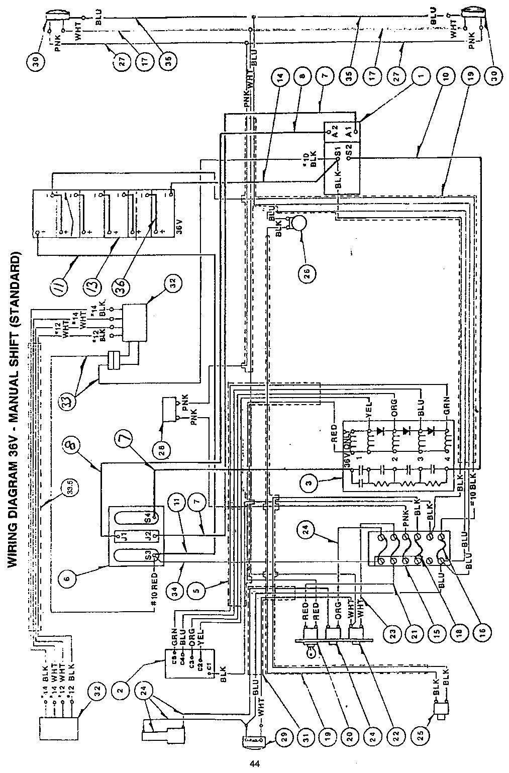 Marketeer Golf Cart Wiring Diagram
