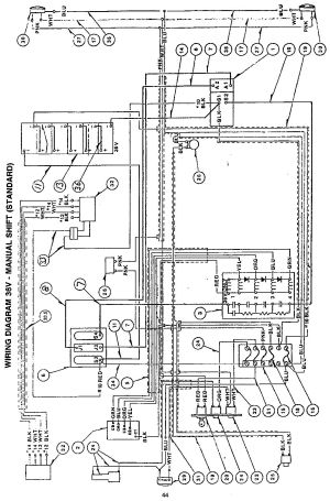 Taylor Dunn Wiring Diagram  Wiring Diagram Pictures