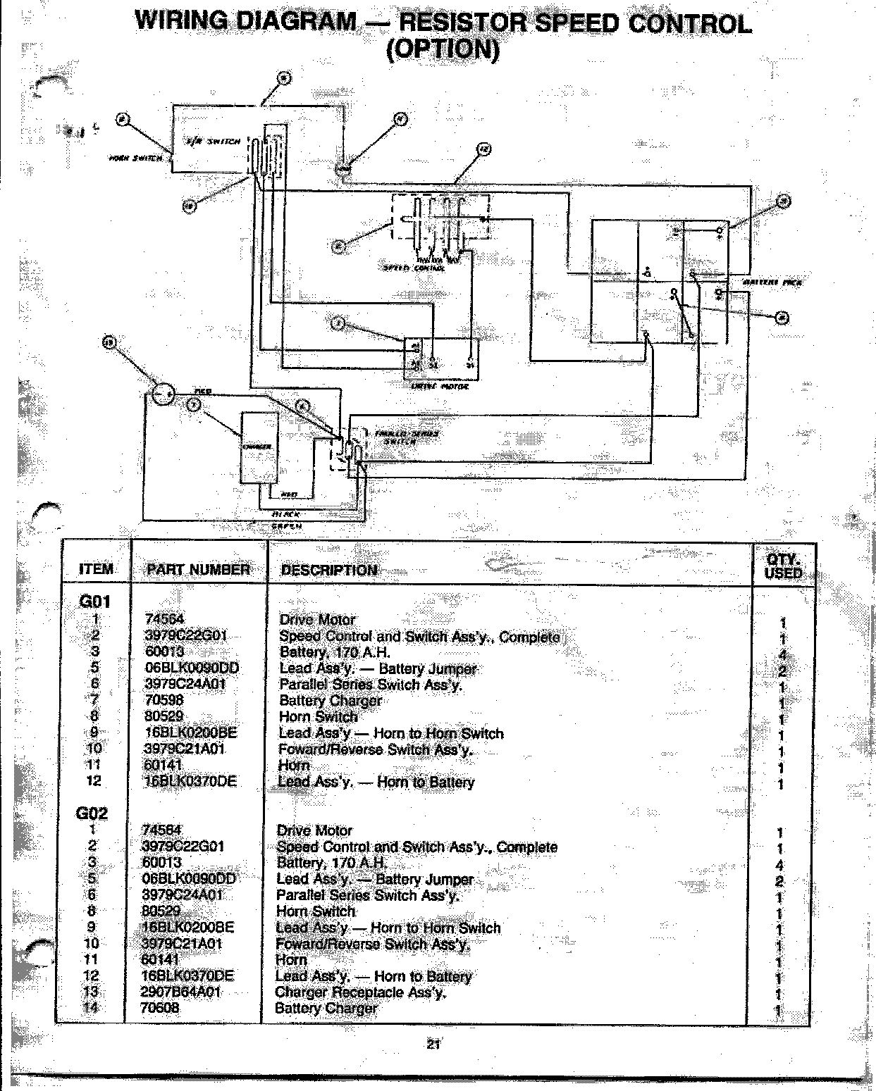 Pargo Wiring Diagram